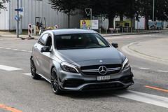 Switzerland (Ticino) - Mercedes-AMG A 45 W176 2015 (PrincepsLS) Tags: switzerland swiss license plate lugano spotting ti ticino mercedesamg a 45 w176 2015