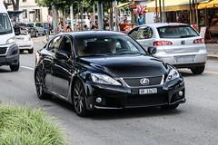 Switzerland (Grigioni) - Lexus IS-F (PrincepsLS) Tags: switzerland swiss license plate lugano spotting gr grigioni lexus isf