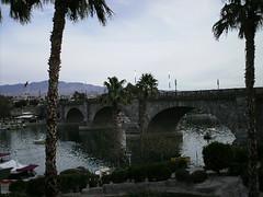 Img0500 (rugby#9) Tags: usa california lakehavasu us tree trees palmtree palmtrees sky cloud boats londonbridge bridge lakehavasucity river coloradoriver arizona