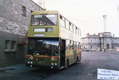 Throwback Thursday (180) (Csalem's Lot) Tags: dublin oos bus cie dublinbus kd bombardier phibsborough garage broadstone kd351 throwbackthursday scan
