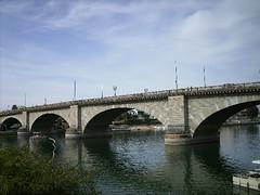 Img0505 (rugby#9) Tags: usa california lakehavasu us sky cloud londonbridge bridge lakehavasucity river coloradoriver arizona