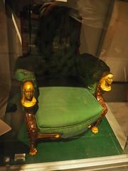 OLYMPUS DIGITAL CAMERA (bentchristensen14) Tags: usa unitedstatesofamerica newyork newyorkcity brooklynmuseum depot chair furniture