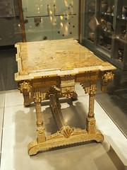 OLYMPUS DIGITAL CAMERA (bentchristensen14) Tags: usa unitedstatesofamerica newyork newyorkcity brooklynmuseum depot table furniture