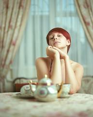 0302 (Epstudio_) Tags: mamiyarz67proii mamiyarz67 rz67 6x7 sekor11028 film kodak ektar scan epsonv700 red hair woman portrait lingeria light breakfast