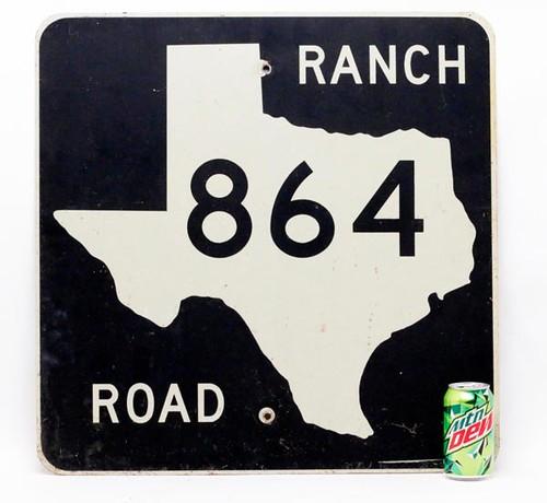 Texas Ranch 864 Sign  ($44.80)