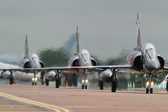 Ramex Delta 3 ship taxi for departure. (scobie56) Tags: dassault mirage 2000n ramex delta armee del air french airforce riat royal international tattoo fairford