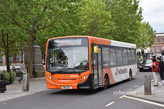 Wheelers North Baddesley SN12EHL. (EYBusman) Tags: wheelers coaches buses north baddesley southampton hampshire independent bus coach salisbury city centre wiltshire alexander dennis enviro 200 dart prentice haddington scotland sn12ehl eybusman