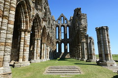 Whitby Abbey (Tony Worrall) Tags: scenery yorkshire scene northyorkshire yorks holidays tourists resort east eastern seasidetown yorkshirephotos uk england coast place north visit location whitby update whitbyphotos photographsofwhitby greatbritain english stream tour open britain country area gb british item attraction outside outdoors sale stock buy capture sell caught photo shoot church stone ruins shot captured picture historic past iconic instragram ilobsterit abbey whitbyabbey englishheritage