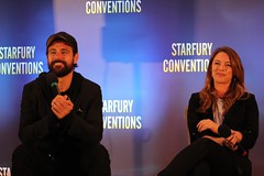 Amy Louise Pemberton and Matt Ryan (Lilttle Cats) Tags: amylouisepemberton legendsoftomorrow gideon johnconstantine mattryan dc