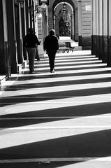Tracce dei nostri discorsi (AnnaPaola54) Tags: laspezia fotomaratona portici lucieombre biancoenero