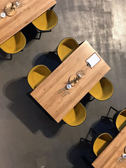 Tables (syf22) Tags: whisky scotch macallandistillery estate singlemalt maltwhisky fromabove lookdown over above table furniture wood eat food chairs