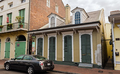 French Quarter (1734) v76, New Orleans, LA (lumierefl) Tags: cityofneworleans crescentcity louisiana la southeast gulfcoast port french unitedstates usa northamerica architecture building residential house home creole cottage dormer a830 19thcentury