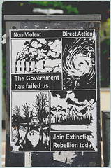 Brighton Streets - what about the planet! (pg tips2) Tags: street streets brighton 2019 extinction rebellion whofunds climatechange maunderminimum sunspots solaractivity stats predictions