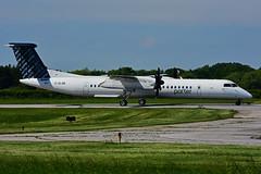 C-GLQB (Porter Airlines) (Steelhead 2010) Tags: porterairlines bombardier dhc8 dhc8q400 yhm creg cglqb