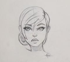 Girl (Ephraim Fowler) Tags: ephraim fowler girl anime art drawing idrawyou fade
