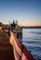 few remain (pbo31) Tags: sanfrancisco california city nikon d810 color june 2019 boury pbo31 spring fishermanswharf bay water sunset submarine wwll marine port ship sail historic pier america