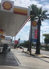 Filling Up (RobW_) Tags: shell petrol station petrou ralli tavros athens greece tuesday 18jun2019 june 2019