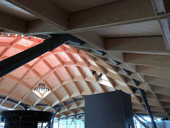 Roof Square (syf22) Tags: whisky scotch macallandistillery estate singlemalt maltwhisky wood timber structure roof ceiling truss construction modern architecture cube boxes