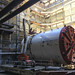 C1045.180723.112p.m. La Brea Sta. Tunneling - STS aligning tail and middle shield - view NW_1