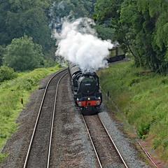 cathex 8427 (m.c.g.owen) Tags: iz24 cathedrals express steam dreams locomotive uk avoncliff bristol london avon valley june 20th 2019 black five 5 lms br