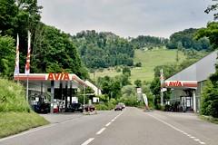 Avia, Duggingen Switzerland. (EYBusman) Tags: avia petrol gas gasoline filling station garage baselstrasse duggingen switzerland eybusman