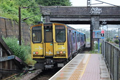 20190618 017 Alexandra Palace. 313040 At Rear 2G19 17.09 Moorgate - Gordon Hill (15038) Tags: railways trains br britishrail electric emu class313 313040 alexandrapalace