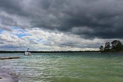 Dark cloud (Irmzaq photography) Tags: nature naturephotography photography sea water waves clouds summer stormclouds darkclouds