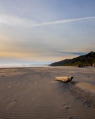 Kalaloch Beach Sunset (SJYokley) Tags: beach sunset dusk driftwood hills sand olympic national park washington