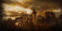 the castle (gotan-da) Tags: texture artwork digital compositing photoart photoshopartistry