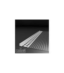 LC-L Profile D'Arrêt De L'Enduit 6mm/2.0M LIKOV (Materiaux Bc) Tags: materiaux construction france alsace mulhouse enduit facade isolant weber chantier ite isolation façadier cellomur likov arrêt profilé