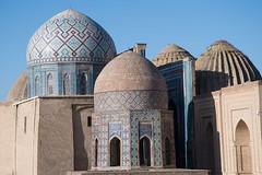 (Henri Decœur) Tags: mausoleum cupola dome terracotta tilework travel henridecoeur