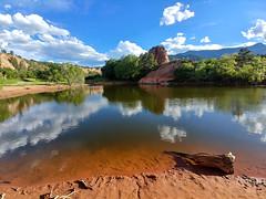 Red Rock Canyon (Stephen_Thompson7) Tags: redrockcanyon colorado lgg6 water reflection mountains
