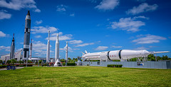 Rocket Garden at Kennedy Space Center Visitor Complex at Cape Canaveral FL (mbell1975) Tags: titusville florida unitedstatesofamerica rocket garden kennedy space center visitor complex cape canaveral fl nasa coast us usa america american rockets