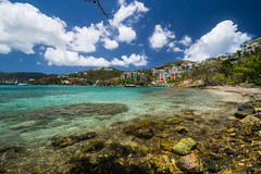 Just another day at the beach (tquist24) Tags: caribbean caribbeansea frenchmanscove nikon nikond5300 outdoor pacquereaubay stthomas usvirginislands virginislands beach clouds geotagged island ocean sand seascape shore sky tropical vacation water
