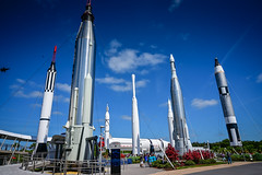 Rocket Garden at Kennedy Space Center Visitor Complex at Cape Canaveral FL (mbell1975) Tags: titusville florida unitedstatesofamerica rocket garden kennedy space center visitor complex cape canaveral fl nasa coast us usa america american rockets museum air