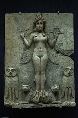 Queen of the Night (MiriaGrunick) Tags: unitedkingdom relief england london museum mesopotamia ishtar britishmuseum queenofthenight