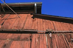 Blacksmith's Closeup (~ Liberty Images) Tags: red barn building architecture blacksmiths roscoevillage ohio coschoctonoh 1800s historic canaltown livinghistory