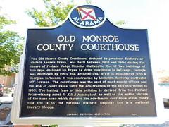 (Old) Monroe County Courthouse (jimmywayne) Tags: monroeville monroecounty alabama courthouse countycourthouse historic nrhp nationalregister tokillamockingbird countysign