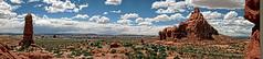 Utah, Wide Open Spaces (Steve Corey) Tags: utah openspaces bigsky reddirt sandstone spires pinnacles peaks arches ancient steve corey