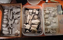Some stuff I am working on (Tiny Shirt) Tags: porcelainbjd porcelainsculpture artdoll tinyshirtdoll dollparts