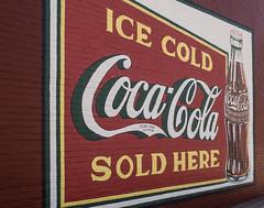 Ice Cold Coca Cola (jwcjr) Tags: douglascountyga douglasville douglasvillega douglasvillegeorgia olympus smallcity smallgacity smalltown smalltownga wallad cocacola cocacolawallad icecoldcocacolasoldhere