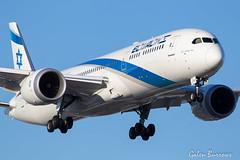 EL fAL 787 (galenburrows) Tags: aviation aircraft airplane boeing 787 elal flight flying cyyz yyz toronto