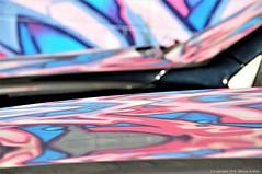 In The Pink (cotton.candy581) Tags: thinkpink hsos smileonsaturdays happysmileonsaturdays pink reflection graffiti