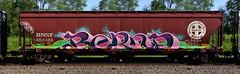 Bernd (quiet-silence) Tags: graffiti graff freight fr8 train railroad railcar art bernd dib hopper bnsf bnsf450486