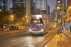 NWFB Alexander-Dennis Enviro400 Low-Bridge 10.3m UU6612 15 (Thomas Cheung Bus Photography) Tags: sony a7iii ilcea7iii a7m3 nwfb newworldfirstbus bus publictransport masstransit adl alexanderdennis enviro400 e400 lowbridge lowheight doubledeckerbus