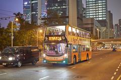 NWFB Alexander-Dennis Enviro400 Low-Bridge 10.3m UR140 26-3 (Thomas Cheung Bus Photography) Tags: sony a7iii ilcea7iii a7m3 nwfb newworldfirstbus bus publictransport masstransit adl alexanderdennis enviro400 e400 lowbridge lowheight doubledeckerbus