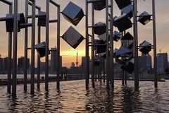 Tokyo Sunset (seiji2012) Tags: japan tokyo harumi sunset tokyotower water reflection 晴海ふ頭 夕日 夕陽 日没 東京タワー happyplanet asiafavorites