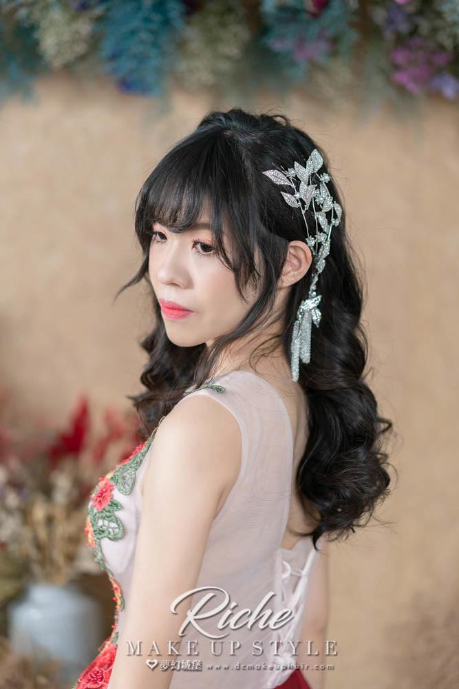 【新秘RICHE】新娘造型創作 / 唯美捲髮
