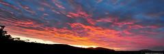 2019-06-20 Sunset Panorama (3072x1024) (-jon) Tags: anacortes skagitcounty skagit washingtonstate washington salishsea fidalgoisland sanjuanislands pugetsound sunset red sky cloud clouds spring pacificnorthwest pnw composite stitched pano panorama panoramic a266122photographyproduction