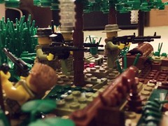 Battle of Long Tan, Vietnam 1966 #5 (thelameguitarist) Tags: 5 vietnam lego battle long tan vc anzac jungle